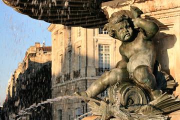 chérubin sur fontaine