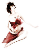 Artistic Fall Maternity poster
