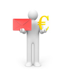 Monetize you mail poster