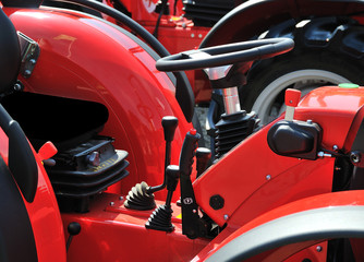 tractor cockpit