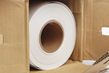 roll paper in box