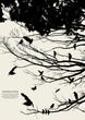 roleta: tree and bird