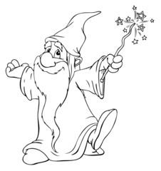 Zauberer, Magier, Hexer, Druide, zaubern, Magie
