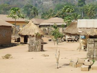 Hut in togo