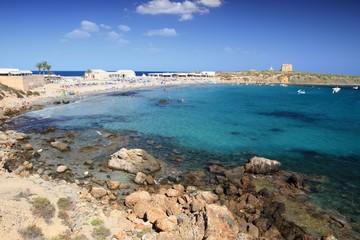Playa de la Isla de Tabarca (Alicante)
