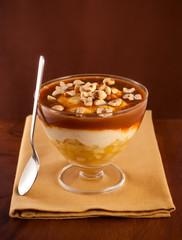 Caramelised  apple dessert