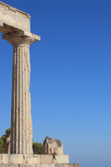 greek temple column