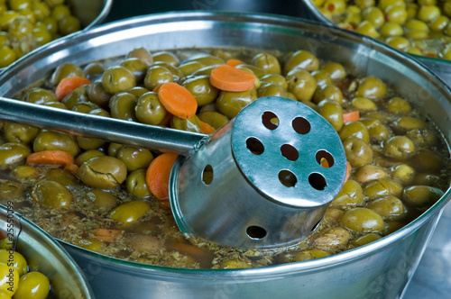 Olives Conil Market Spain