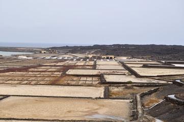 Las Salinas de Janubio en Lanzarote