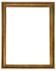 Gold wooden frame