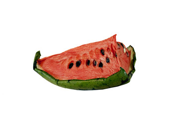 dried up watermelon - slice