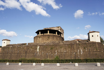 Famous fortress of Florence - Fortezza da Basso, Italy