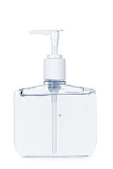 Hand sanitizer pump bottle
