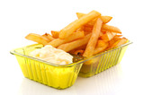 French fries with mayonaise