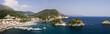 Leinwandbild Motiv Parga (panorama)
