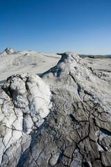 Muddy volcanoes soil