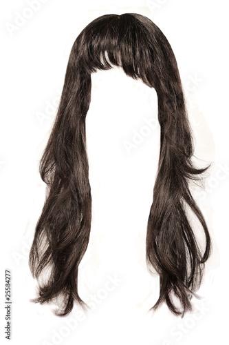 canvas print picture black  hair