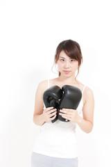 ボクシンググローブ 女性