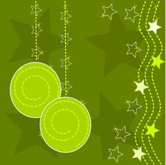 sfondo natalizio verde