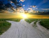 Fototapety rural roads