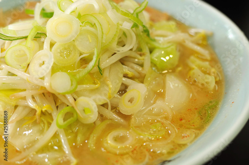 Japanese fermented bean noodles
