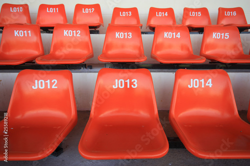 Seat for watch  some sport or football