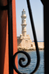 Lighthouse in Chania
