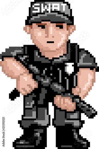 PixelArt: Police SWAT