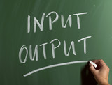 input/output poster