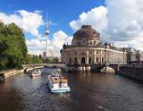 Berlin Tourismus vom Ausflugsboot aus