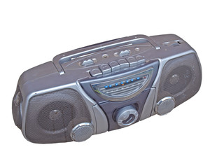 Old radio player