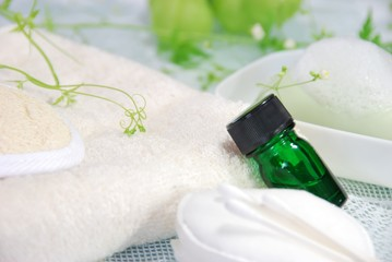 essential oil and amenities