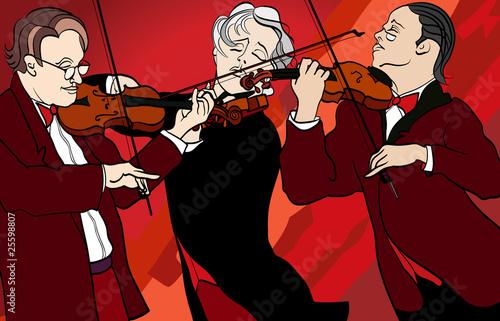 violin players - 25598807