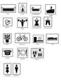 pictograms poster