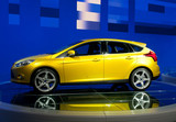 Fototapety modern car on autoshow