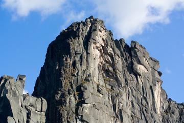 Mountain landscape. Pass of Artists. Siberian Natural Park Ergak