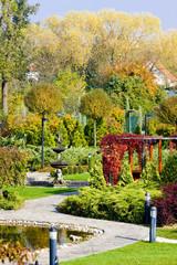 garden in Bojnice, Slovakia