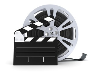 film spool isolated