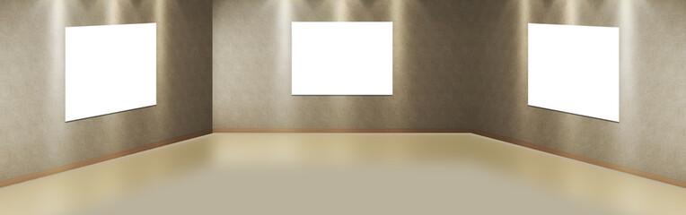 Stanza vuota camera con tele