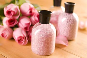 Sea salt and rose