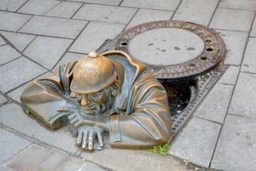 sculpture connue de Bratislava