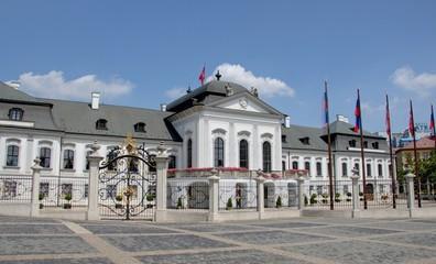palais présidentiel à Bratislava