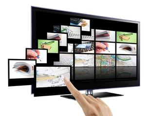 3D interactive TV