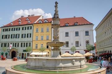 place centrale de Bratislava