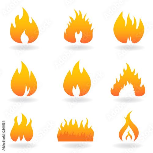comment dessiner un feu