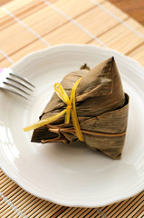 Chinese traditional meat dumpling
