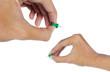 hand attach thumbtack