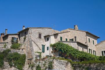 View of Spello. Umbria.
