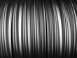 Abstract aluminum stripe pattern background