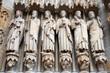 Kirchenmänner Darstellung Amiens Kathedrale